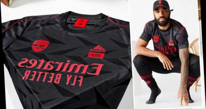 Arsenal and adidas release new 424 training kit collection ahead of Tottenham clash but fans are blown away by prices