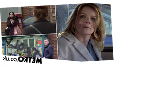 46 new Corrie images reveal Leanne arrested, affair exposed and Brian targeted