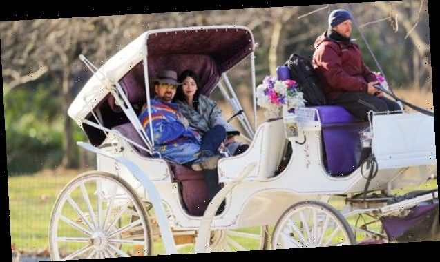Nicolas Cage, 57, & His 5th Wife Riko, 26, Go For Romantic Carriage Ride 2 Weeks After Wedding — Pics