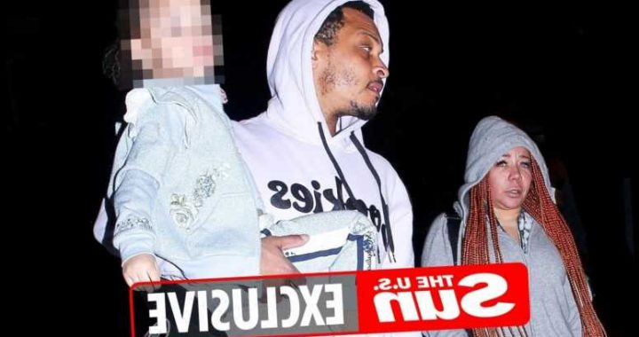TI & Tiny look tense as they're seen out in public for first time since claims they drugged and forced victims into sex