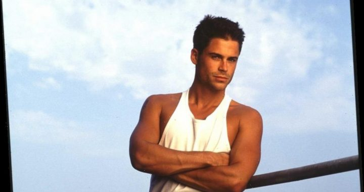 Why Someone Gave Rob Lowe a Wrapped Condom When He Was Young