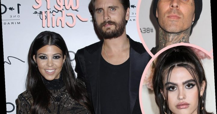 Scott Disick Is Cool With Kourtney Kardashian & Travis Barker Relationship: He Knows 'He Can't Ever Be Replaced'