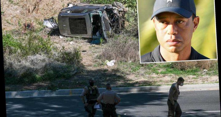 Tiger Woods crash investigation reportedly shows he never hit brake
