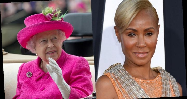 Jada Pinkett Smith jokingly shares picture of Queen Elizabeth on 'Red Table Talk'