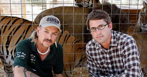 'First Savile now Tiger King – Louis Theroux couldn't spot a wrong 'un in jail'