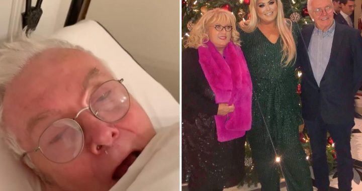 Gemma Collins says her dad 'isn't the same man' after battling Covid saying 'it's really distressing'