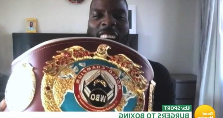 Good Morning Britain fans convinced show isn't live as they spot guest Lawrence Okolie's clock is 10 minutes FAST