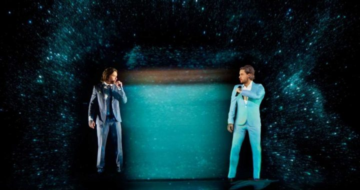 Liam Payne leaves Bafta viewers drooling with new lockdown hair during unique hologram performance