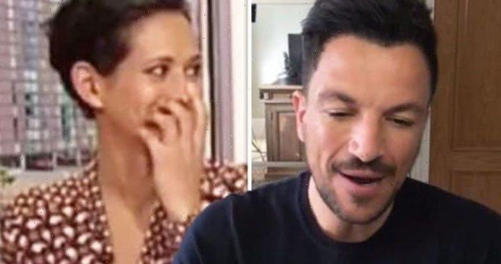 Naga Munchetty: BBC Breakfast host mocks Peter Andre in savage swipe 'Clearing tumbleweed'