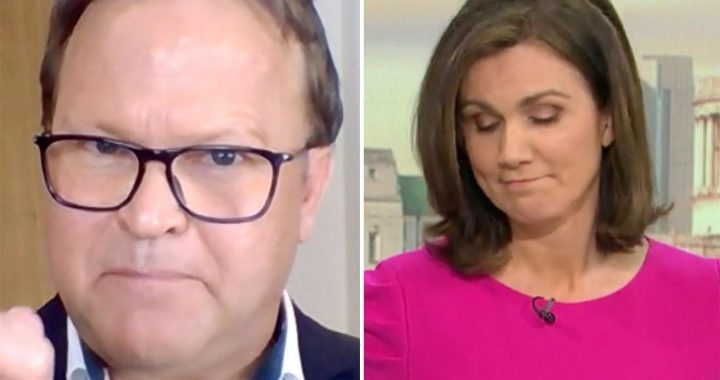 Susanna Reid in row with 'fat-shaming' diet guru who thinks obese Brits should be turned away from fast-food restaurants