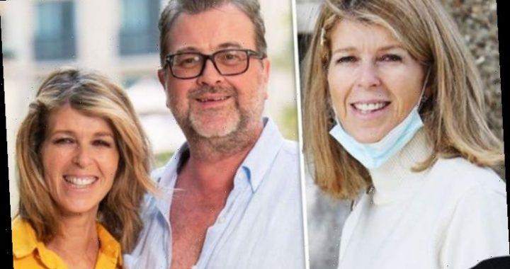 Kate Garraway beams with delight after emotional reunion as husband Derek returned home