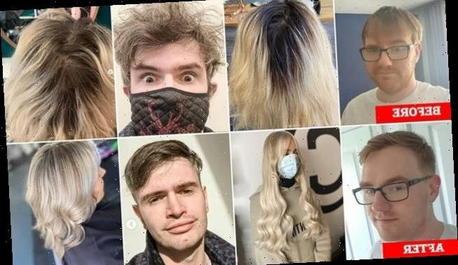Scots show off fresh trims as hairdressers reopen across the country