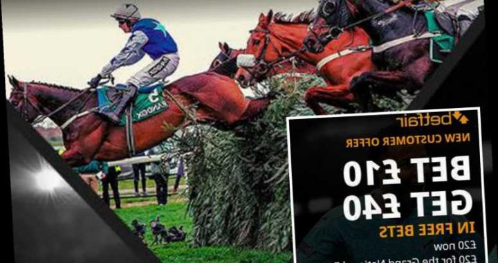 Grand National betting offer special: Get £40 in FREE BETS by signing up with Betfair