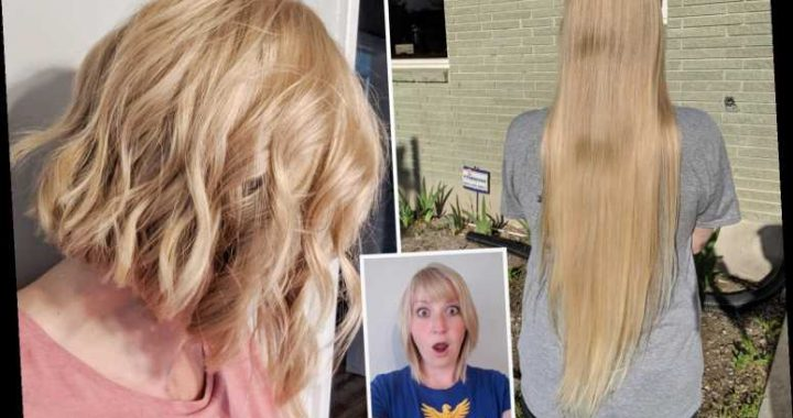 I made $800 chopping off my 32ins hair – how much is YOUR hair worth?