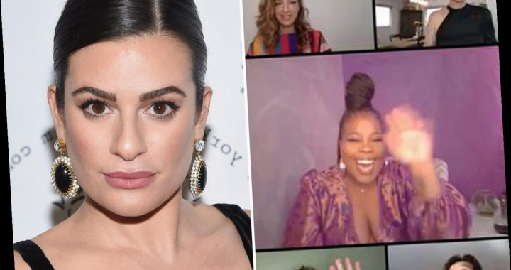 Glee cast reunites to honor tragic Naya Rivera at the GLAAD awards – but Lea Michele skips event after co-stars bash her