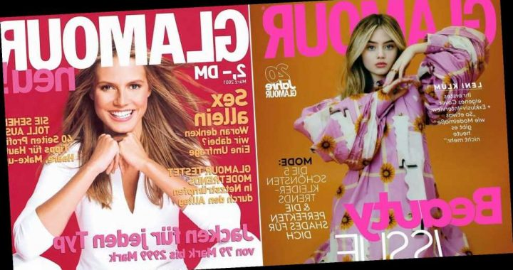 Twins! Leni Klum Stuns on Cover of 'Glamour' 20 Years After Mom Heidi