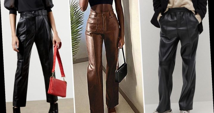 Best Faux Leather Trousers For Women 2021 | The Sun
