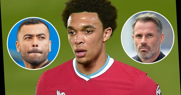 Chelsea icon Ashley Cole and Jamie Carragher break down Alexander-Arnold's defensive issues after shock England axing