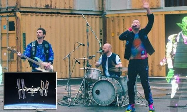 Coldplay send their new single into SPACE