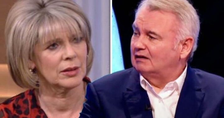 Eamonn Holmes slams brutal swipe amid claim he's 'uncomfortable' with Ruth on This Morning