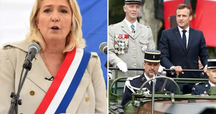 France on brink of 'civil war' thanks to Macron 'surrendering' to Islamic extremists, THOUSANDS of soldiers warn