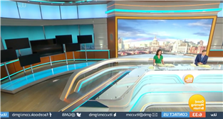 Good Morning Britain hit by technical blunder as broken studio screens plunge Dr Hilary Jones into darkness