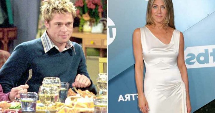 Jennifer Aniston calls ex-husband Brad Pitt a 'wonderful' Friends guest star one year after exes' reunion at awards show