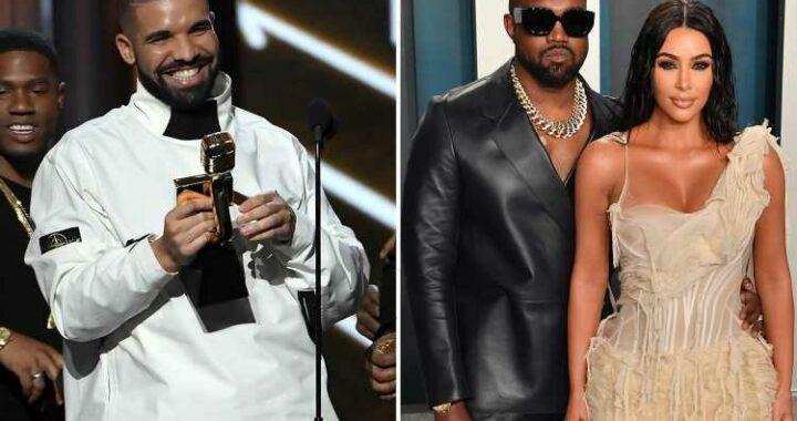 Kim Kardashian 'attended birthday party with rumored fling & ex Kanye West's nemesis Drake'