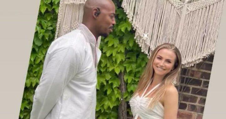 Mehcad Brooks Surprisingly Weds His Girlfriend Frida
