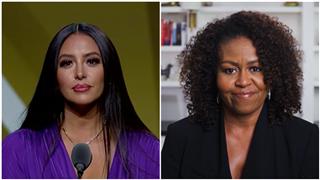 Michelle Obama Sends Love to Vanessa Bryant After Emotional Speech