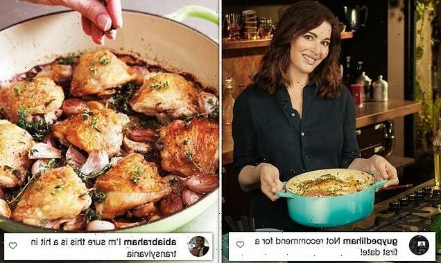 Nigella Lawson shares recipe for casserole with FORTY garlic cloves