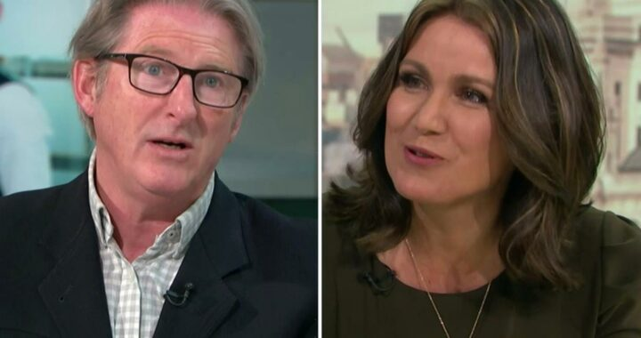 Susanna Reid shares the moment she spotted Line Of Duty's missed clue to H's identity with Adrian Dunbar on GMB