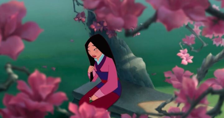 The Charming Story Behind Why Mulan Plays With Her Hair So Much