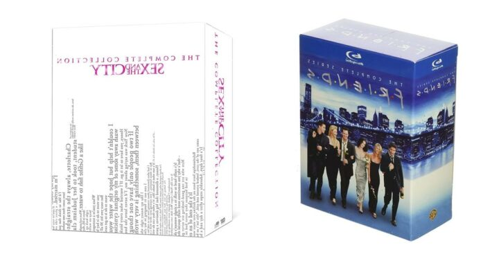 1 Day Only! Save Up to 69% on 'Friends' and 'Sex and the City' Box Sets