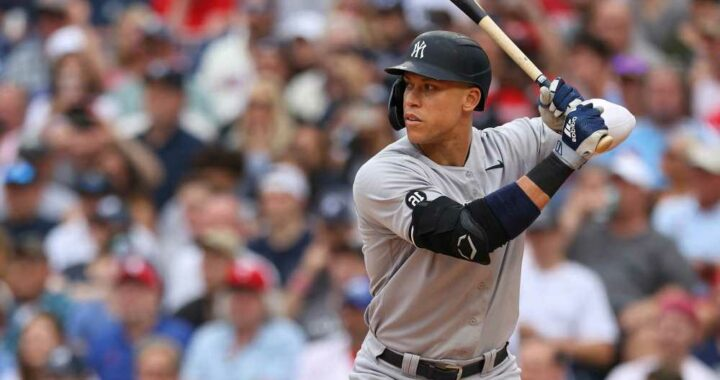 Aaron Judge out with back spasms in yet another Yankees concern