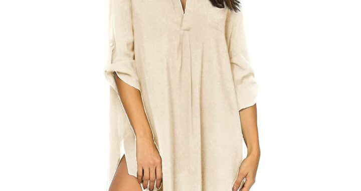 Amazon Shoppers Say This $23 Swim Cover-Up Also Makes the Perfect Summer Top