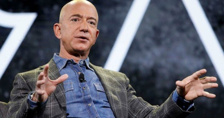 Amazon founder Jeff Bezos announces he will fly into space next month
