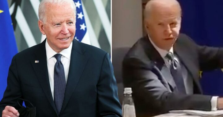Biden mumbles 'I'm gonna get in trouble' in another confused rant as he's accused of 'embarrassing US on world stage'
