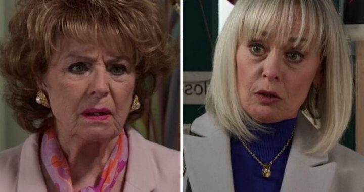 Coronation Street fans in shock as Rita Tanner has Sharon Bentley arrested over drugs gang scheming
