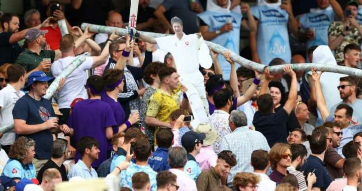 England's Rory Burns says Hollies Stand crowd at Edgbaston might be best in world cricket