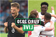 Euro 2020 LIVE: England vs Germany NEXT at Wembley, France and Portugal through, Last 16 ties CONFIRMED – latest updates