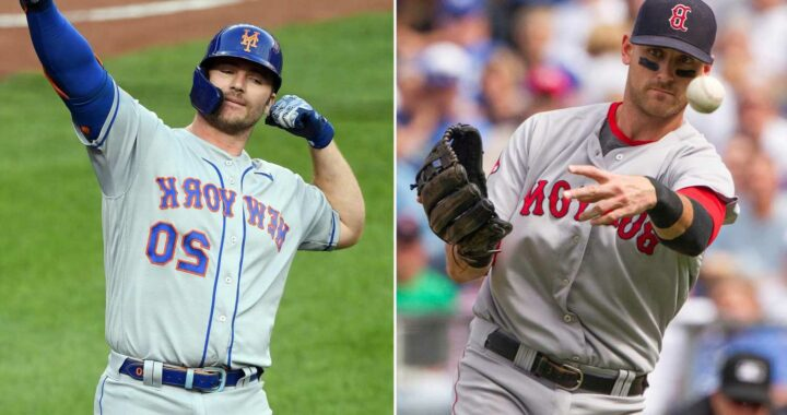 Former Red Sox star adds $395 million wrinkle to Pete Alonso's conspiracy theory