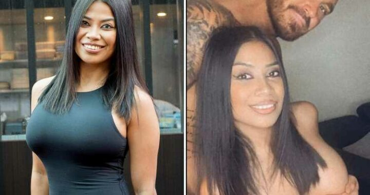Married At First Sight Australia's Cyrelle goes topless as she reveals brand new boobs in racy snap