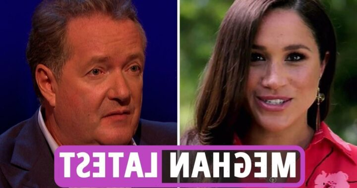 Meghan Markle latest news – Piers Morgan slams Duchess and Prince Harry for 'marching around like they're Kim Jong-un'