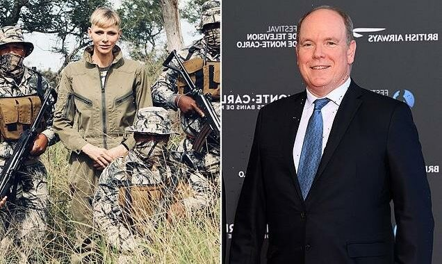 Prince Albert of Monaco appears in public without Princess Charlene
