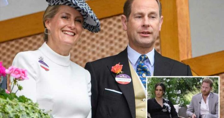 Prince Edward jokes 'Oprah who?' after nephew Harry's explosive interview with chatshow queen