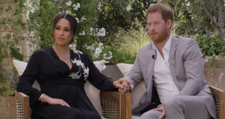 Prince Harry did the Oprah interview because he was mad about his military titles?
