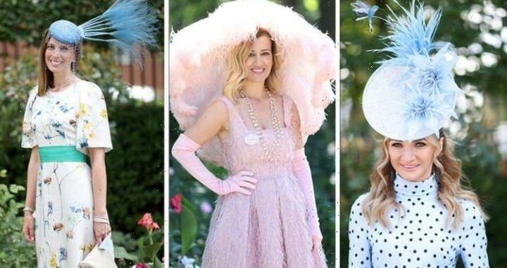 Royal Ascot 2021: Best hats include massive feathers, flowers, and bold prints