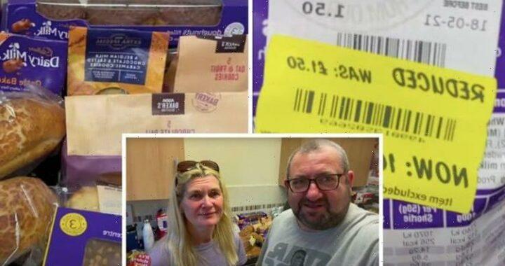 Savvy family-of-five pick up £51 Asda food shop for just £3 – supermarket tips & tricks