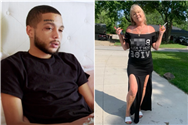 Teen Mom 2 star Bar Smith's mom Shen, 51, shows off figure in slit skirt & 'b***h don't kill my vibe' tee while smoking